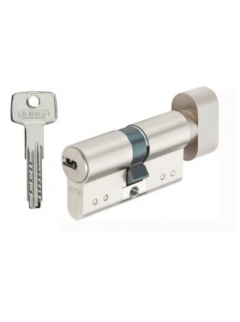 Дверной цилиндр ABUS с плоским ключом D15 30/30В никель