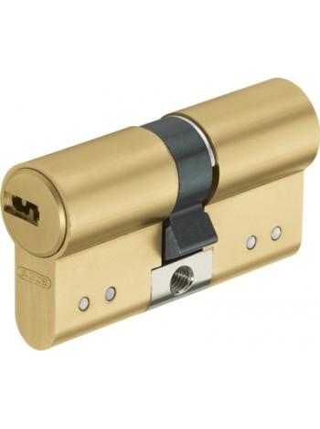Дверной цилиндр ABUS с плоским ключом D15 30/40 латунь