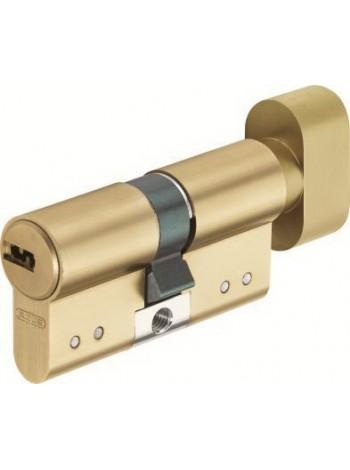 Дверной цилиндр ABUS с плоским ключом D15 35/35В латунь