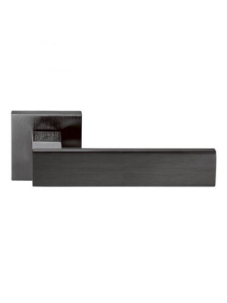 Дверная ручка COLOMBO DESIGN ALBA LC 91 ГРАФИТ/МАТ ГРАФИТ