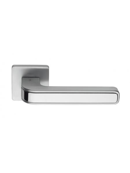 Дверная ручка COLOMBO DESIGN TECNO MO 11 ХРОМ/МАТ ХРОМ