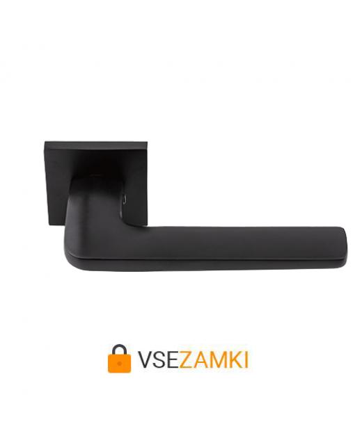 Дверная ручка HISAR Aranda MB(матовый черный)