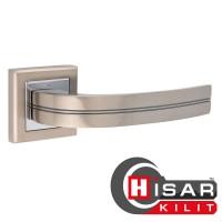 Дверная ручка HISAR AS 15 SN/CP