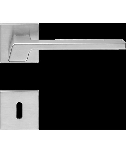 Ручка дверная Linea Cali Stream хром матовый