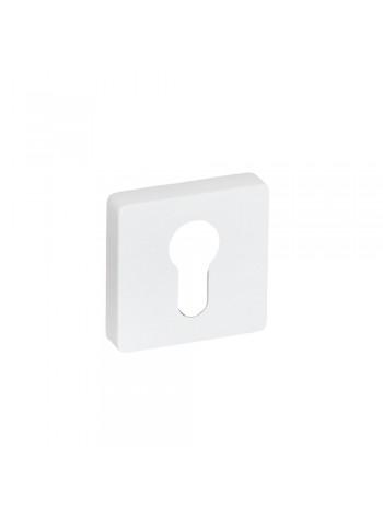 Накладка на цилиндр System RO11W AL315 Белый Матовый