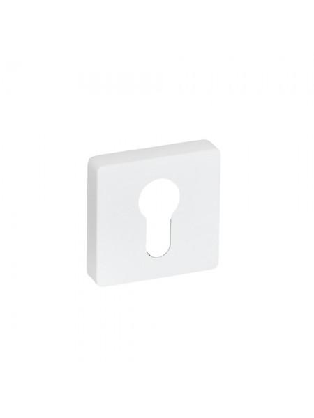 Накладка на цилиндр System RO11Y AL315 Белый Матовый