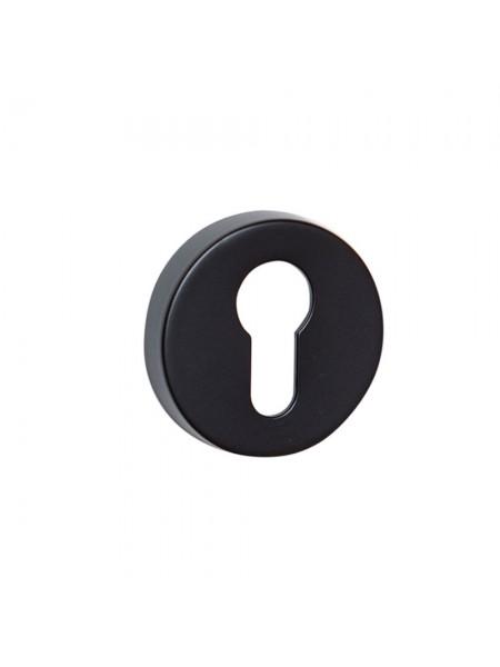 Накладка под цилиндр System RO12Y AL6 Черный Матовый