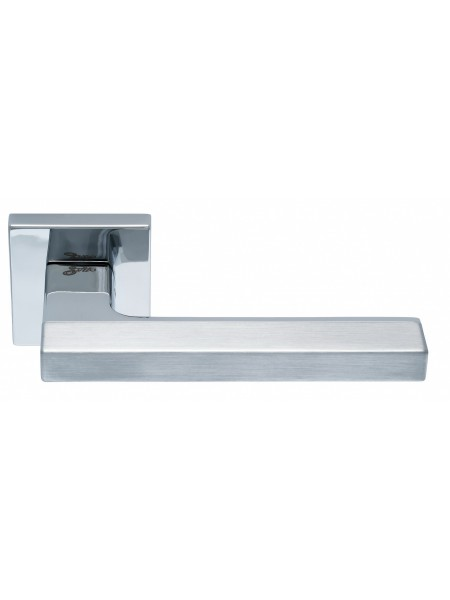 Дверная ручка Safita COMBO HT SC/CP матовый хром/хром