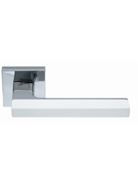Дверная ручка Safita COMBO HT WP/CP белый/хром