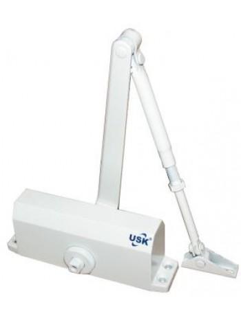 Доводчик дверной USK 603-75 кг белый купить