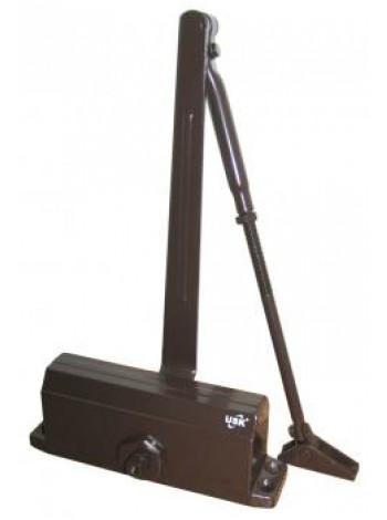 Доводчик дверной USK 604-100 кг коричневый купить