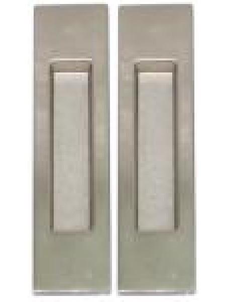 Ручки для раздвижных дверей USK без замка I-077 BN никель