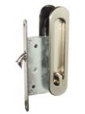 Ручки для раздвижных дверей USK с замком I-05 АВ бронза